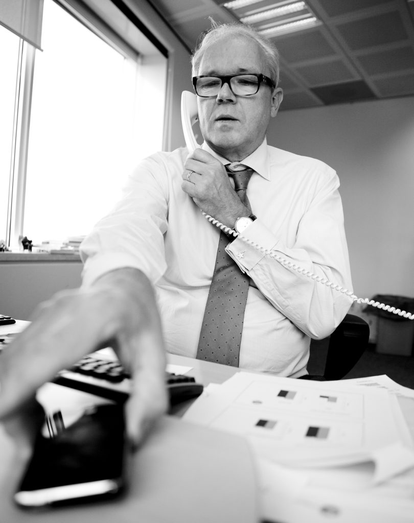 Fred Arp, CFO Telegraaf Media Group