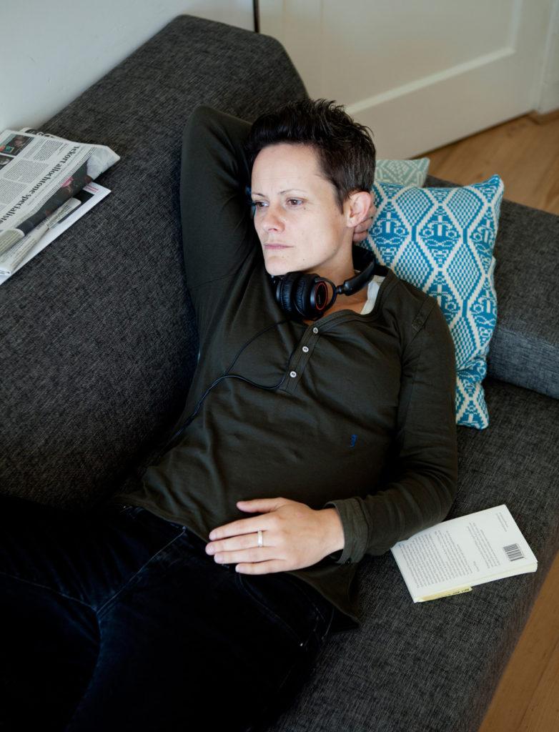 Lara Rense, journalist and radio host